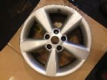 2012 NISSAN QASHQAI GENUINE OEM 17'' 5 SPOKE ALLOY WHEEL SILVER JD110 MB55